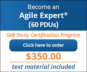 Agile Certification 20 PDUs